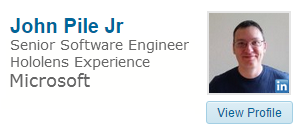 John Pile Jr on Linked In