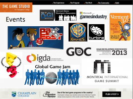 Champlain College Game Studio Events