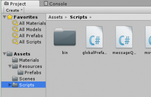 globalPrefabs.cs is just one of many scripts that are included as a game Asset.