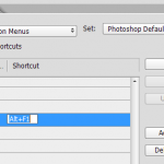 Adding a keyboard shortcut to your a Photoshop Script.