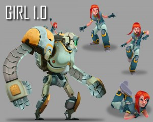 Wayward: Girl and Robot
